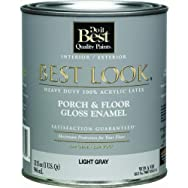 - W39W00910-14 Best Look Heavy-Duty Acrylic Latex Gloss Floor Enamel