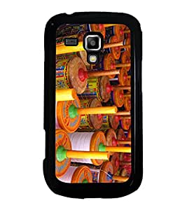 Colourful Kite Charkhi 2D Hard Polycarbonate Designer Back Case Cover for Samsung Galaxy S Duos S7562