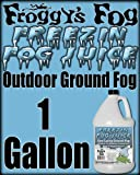 Freezin Fog ® Outdoor Low Lying Ground Fog Juice Machine Fluid - 1 Gallon - The Haunted House Owners Choice for Outdoor Graveyard Fog