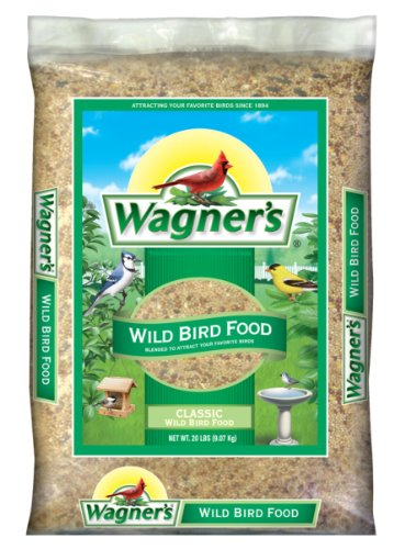 Wagner's 52004 Classic Wild Bird Food, 20-Pound Bag (Bag Of Corn Seed compare prices)