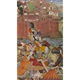 Akbar Receives Trophies of War from Asaf Khan, by Nanha (V&A Custom Print)