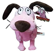 12'' Courage the Cowardly Dog Soft Toy Plush by Cartoon Network