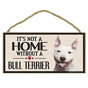 Imagine This Wood Sign for Bull Terrier Dog Breeds