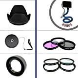 Professional Protection and Filter Kit For Nikon D3000 and D5000