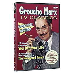 Groucho Marx TV Classic: 3-Disc Collector's Set