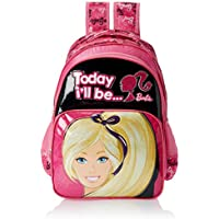 Barbie Pink and Black Children's Backpack (EI-MAT0036)