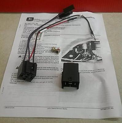 John Deere AM107421 Starter Relay Kit AM107421, 316 318 160 165 180 420 GX75 SRX95