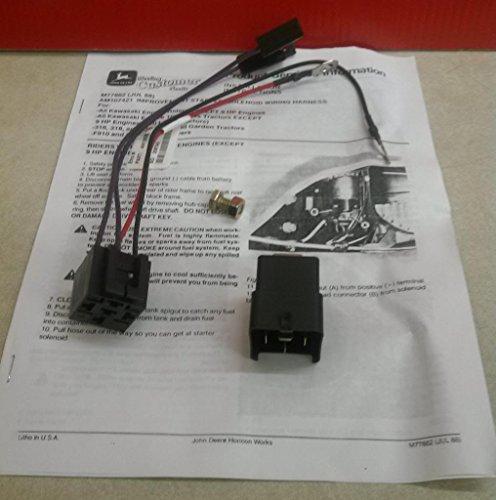 John Deere Am107421 Starter Relay Kit Am107421  316 318