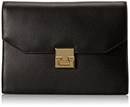 Ivanka Trump Hopewell Clutch, Black, One Size