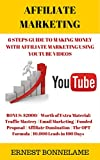 AFFILIATE MARKETING: 6 Steps Guide to Making Money With Affiliate Marketing Using YouTube Videos