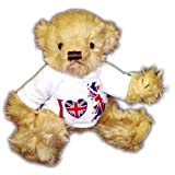"PERSONALISED 10"" TEDDY BEAR GIFT. YOUR PHOTO / NAME / MESSAGE PRINTED *FREE POSTAGE*by The Personalised..."