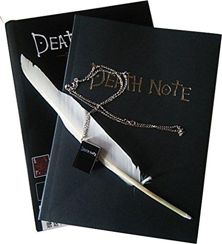IZUMI WARUDO 26センチ デスノート DEATE NOTE 羽ペンと懐中時計型ネックレスペンダント付き