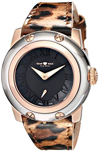Glam-Rock-Womens-GR40029-Miami-Analog-Display-Swiss-Quartz-Multi-Color-Watch