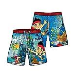 Pantalón corto de baño, diseño de Jack y los piratas de Nunca Jamás. multicolor 7 años