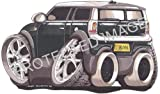 Koolart Car Tax Disc Holder suitable for Mini Clubman BMW