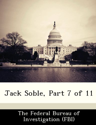 Jack Soble, Part 7 of 11