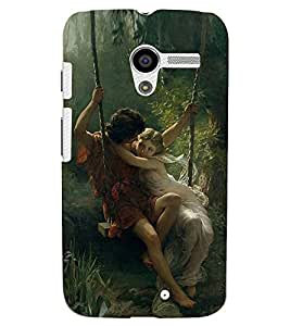 PRINTSWAG LOVE COUPLES Designer Back Cover Case for MOTOROLA MOTO X