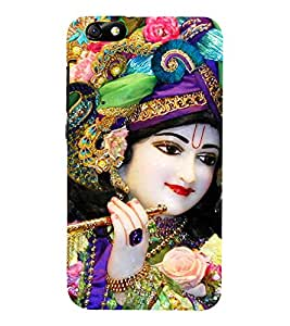 Lord Krishna 3D Hard Polycarbonate Designer Back Case Cover for Huawei Honor 4X :: Huawei Glory Play 4X