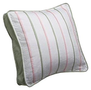 Amazon.com - Nautica Seagrove Pink 18x18 Decorative Pillow - Throw Pillows