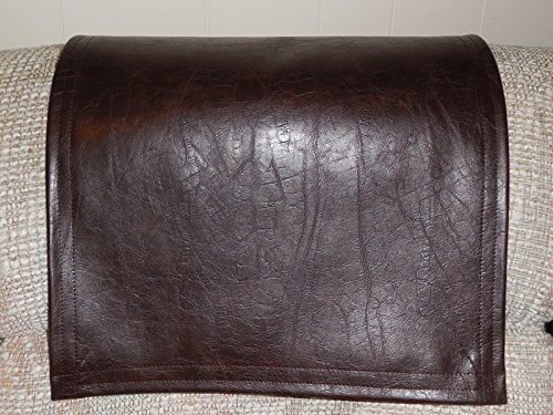 Chair Cover Recliner Pad Headrest Furniture Protector San Fran Chocolate Vinyl 14X30 Sofas Loveseats Theater Seating Chaises (Chair Headrest Covers compare prices)