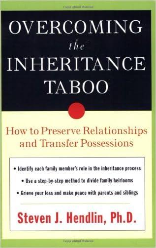 Overcoming the Inheritance Taboo written by Steven Hendlin
