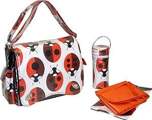 Kalencom Ladybug Diaper Bag