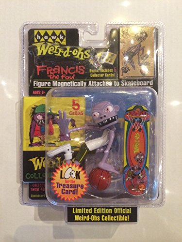 Weird-Ohs Carded Figure With 5 Collecter Cards #8 Francis The Foul