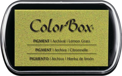 ColorBox Classic Pigment Ink Pad, Full Size, Lemon Grass