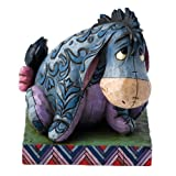 Disney Traditions True Blue Companion Eeyore Figure