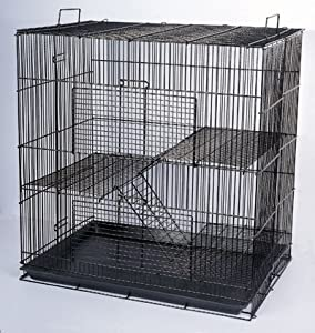 New Medium 3 Levels Ferret Chinchilla Sugar Glider Cage 24