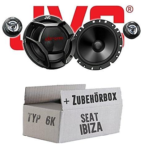 Seat Ibiza 6K FL Front - JVC CS-DR1700C - 16cm 2-Wege Lautsprecher System - Einbauset