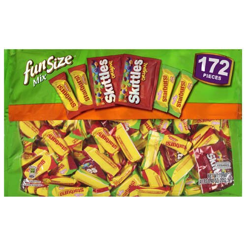 Skittles/Starburst Fun Size Mix 172ct