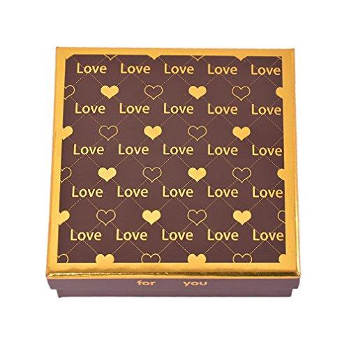 MJARTORIA-Assortiment-De-9-Chocolat-Ecrin-Boites-Coffret-Marron-Carr-Cur-Love-pour-Famille-Set-Stockage-Fte-Nol