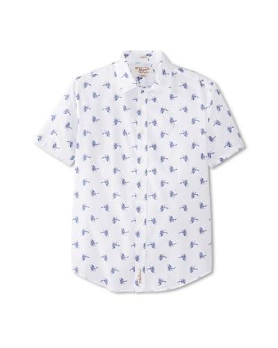 Original Penguin Men's Short Sleeve Bird Of Paradise Shirt