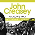 Gideon's Way: Gideon of Scotland Yard, Book 24 (       UNABRIDGED) by J.J. Marric Narrated by Barnaby Edwards