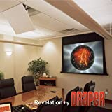 Revelation Motorized Ceiling-Recessed Projector Mount Style: Model A, Plenum: Included (Color: White)