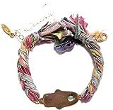ettika ( エティカ ) ロサンゼルス の ハムサ モチーフ リボン ブレスレット マルチ カラー 海外 ブランド