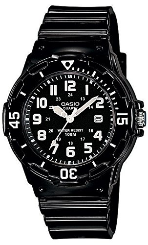 Casio LRW-200H-1BVEF - Reloj de pulsera de mujer, resina, color negro