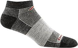Darn Tough Merino Wool Run/Bike No Show Ultralight Sock - Men\'s Charcoal 2X-Large