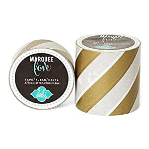 "Amazon.com: Brand New Heidi Swapp Marquee Love Washi Tape .875""-Gold"