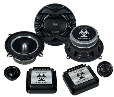 CRUNCH 2-Wege Lautsprecher System BLACKMAXX BMX-5.2C