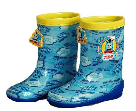 きかんしゃトーマス 長靴 雨靴 ベビー 13cm レインブーツ  サックス ムーンスターC61