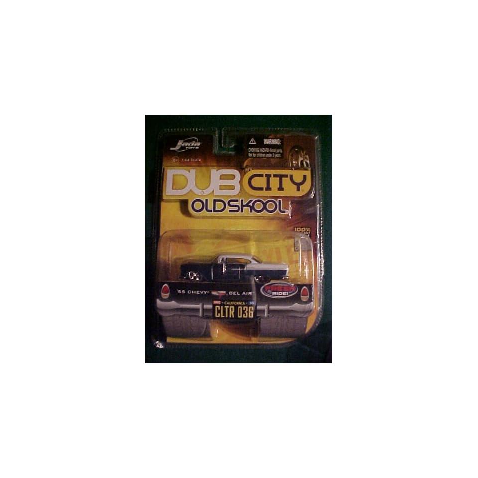 1955 Chevy Bel Air Dub City Old Skool Diecast