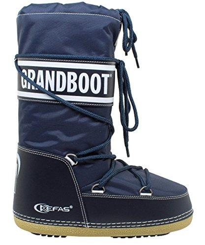 Kefas - Grandboot - Doposci Boot Uomo Donna Bambino - Blu - Taglia 38/40
