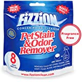 Fizzion - Pet Stain and Odor Eliminator - Fragrance Free - Removes Pet Urine and Feces Safely With The Professional Cleaning power Of CO2