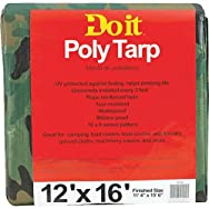 Do it Best GS Tarps 741493 Do it Camouflage Poly Tarp-12X16 CAMO TARP