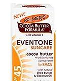 Palmer's Cocoa Butter Formula With Vitamin E, Eventone Suncare Sunscreen For Face, SPF 45, 1 Oz