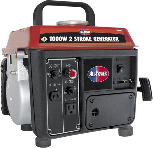 All Power America Apg3004 1000-Watt 2-Cycle Gas Powered Portable Generator Garden, Lawn, Supply, Maintenance
