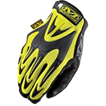 Mechanix Wear Safety Mpact Hi-Viz Gloves, Yellow