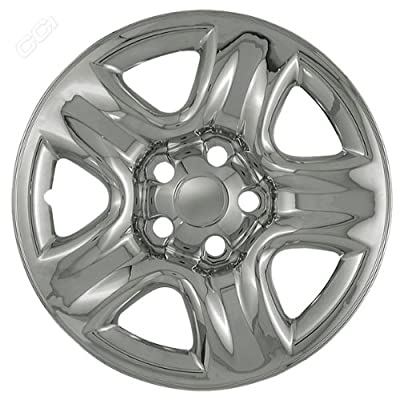 Coast To Coast IWCIMP42X 16 Inch Chrome Wheelskins With 5 Dimpled Spokes - Pack Of 4